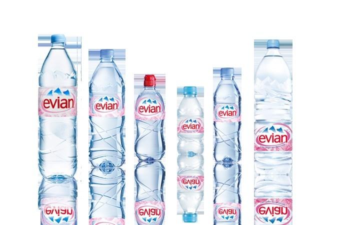 Super l' eau minérale d'Evian RK57
