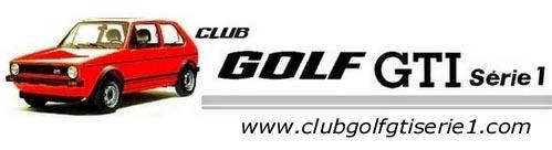 CLUB GOLF GTI s�rie1