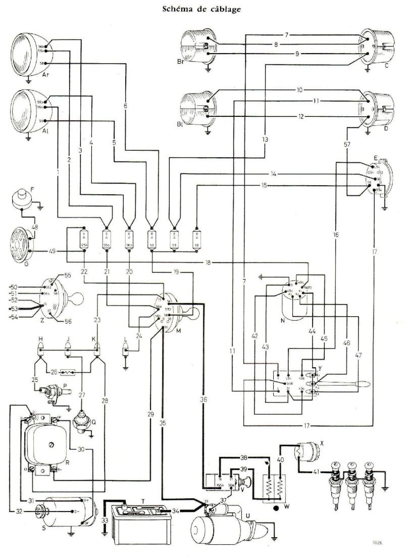 b 17 schema cablage