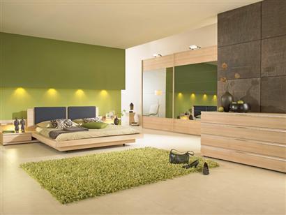 salon vert et marron une chambre anis et chocolat deco salon - Chambre Marron Et Vert