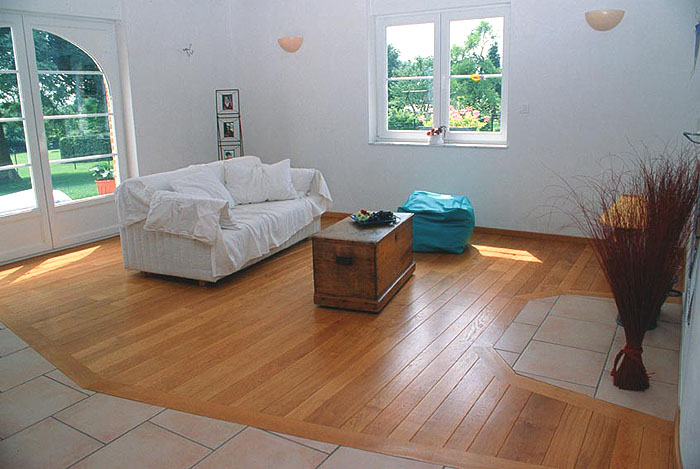 Salon carrelage et parquet for Carrelage vs parquet