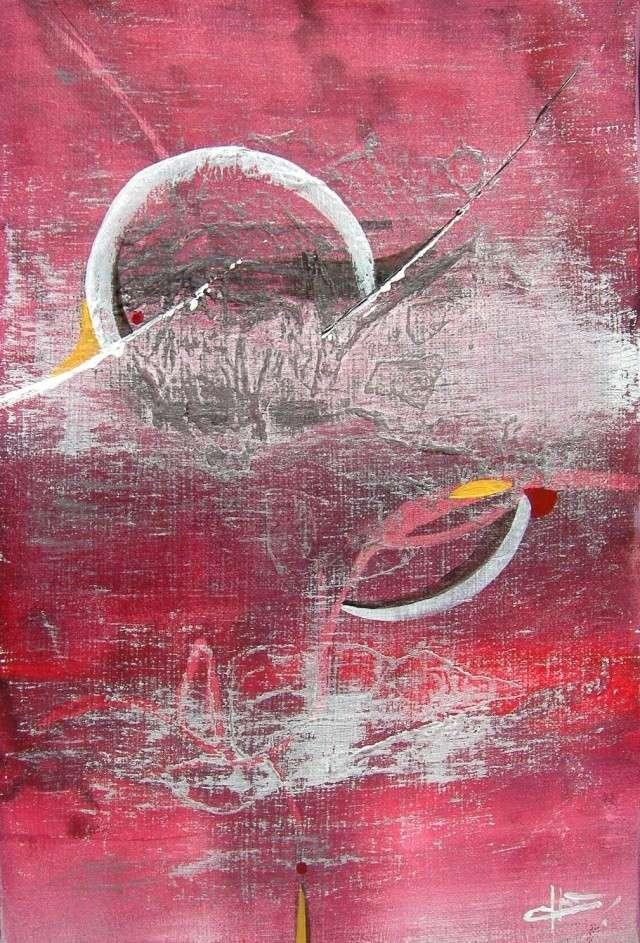 DECHIREMENTS SOUS LA LUNE dans Acryliques sur toile 138_da10