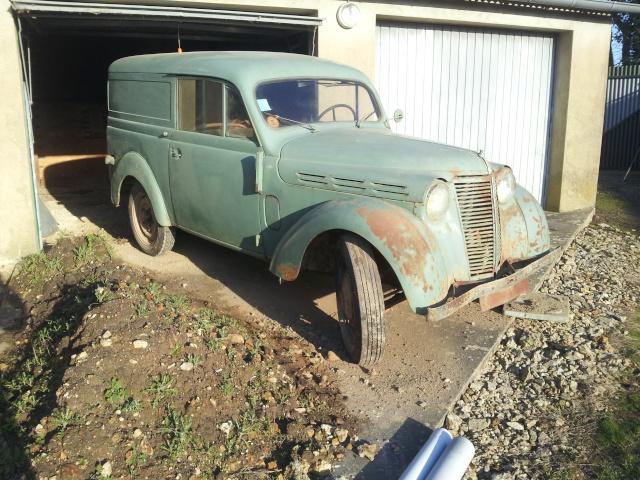 Forum g n rations afficher le sujet nouvelle titine une juvaquatre de 1949 - Garage petit sains en gohelle ...