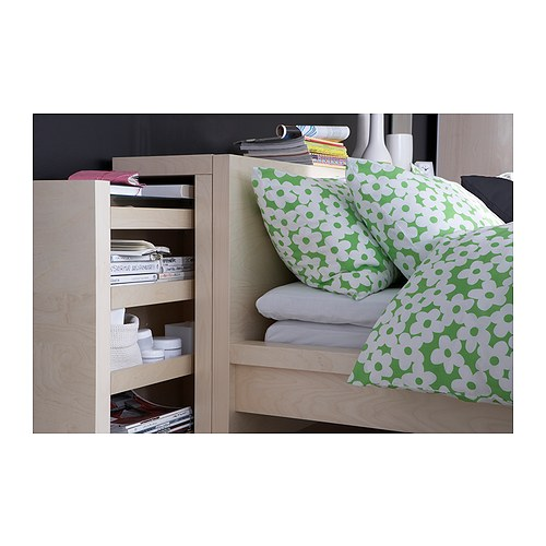 tete de lit rangement ikea malm. Black Bedroom Furniture Sets. Home Design Ideas