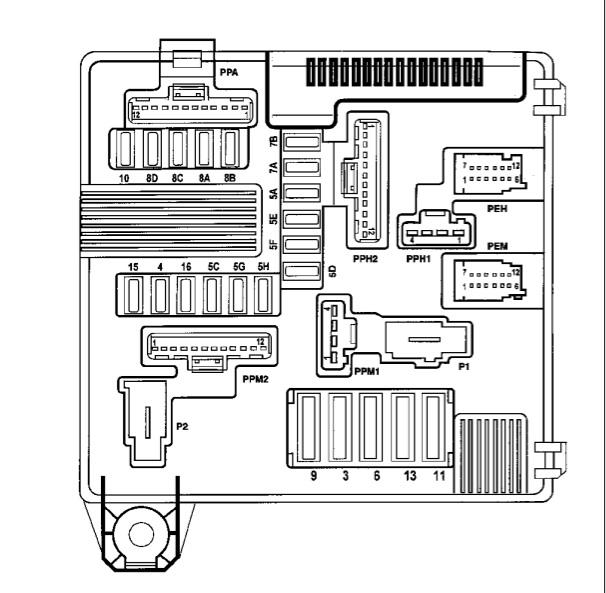 pannes suite court circuit schemas fusible moteur p1. Black Bedroom Furniture Sets. Home Design Ideas