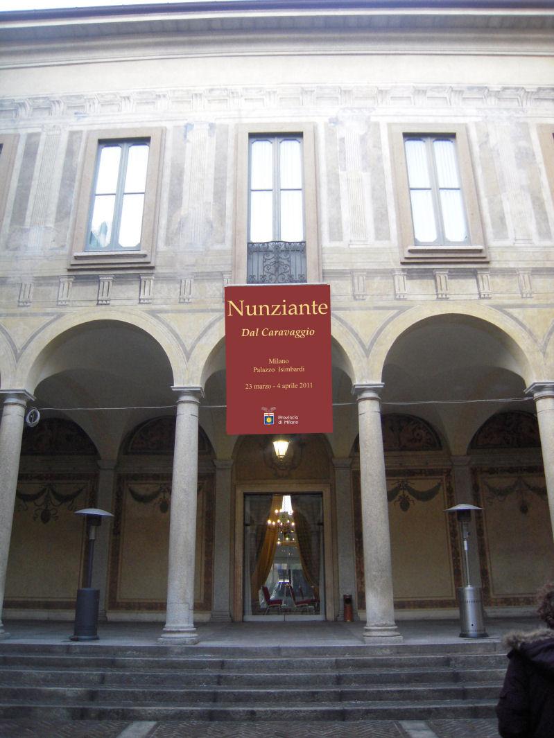 2011 mostra dal caravaggio a milano for Caravaggio a milano