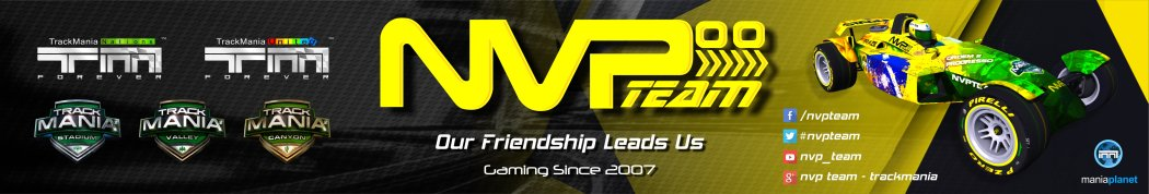 NVP TEAM - Now on Mania Planet - Trackmania Stadium, Canyon & Valley