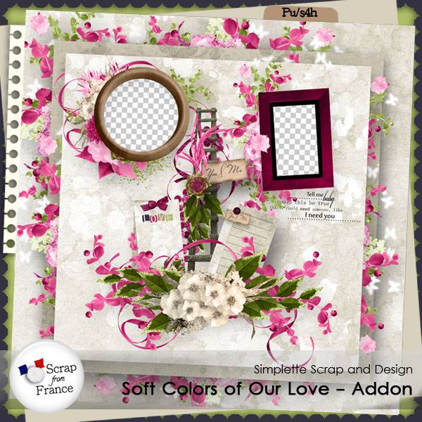 addon soft colors of our love simplette exclu SFF
