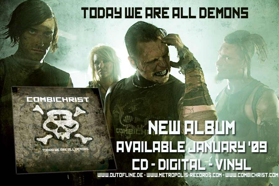 Combichrist - Icon Of Coil - Panzer AG Fans