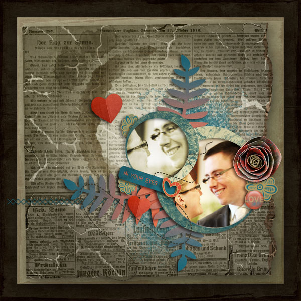 every smile kit digiscrap simplette page cocotounette