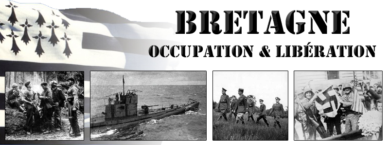 Bretagne : Occupation - Lib�ration