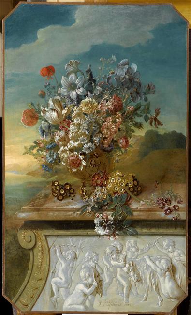 Exposition Fleurs Du Roi Au Grand Trianon