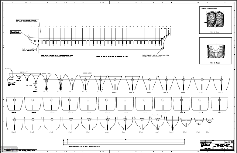 Andrea doria progetto di costruzione for Piani di costruzione del costruttore