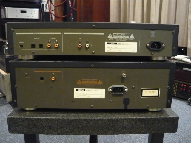 Teac VRDS T1 & DT1 Cd Transport And Dac (used