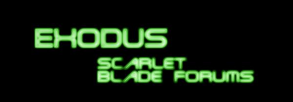 Exodus Scarlet Blade