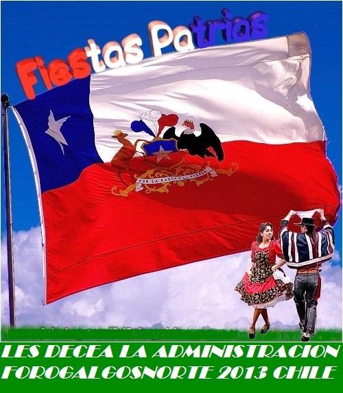 ''FORO DE GALGOS DEL NORTE, (CHILE)''