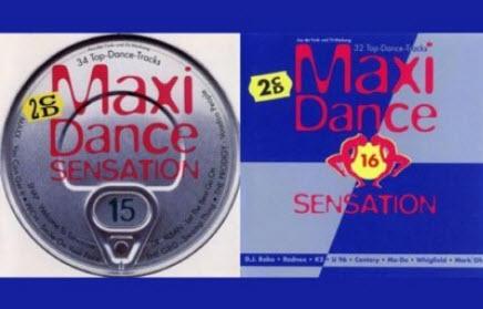 VA - Maxi Dance Sensation Vol.15 & Vol.16