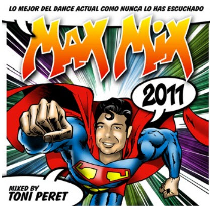VA - Max Mix 2011 (Mixed By Toni Peret) - 2011