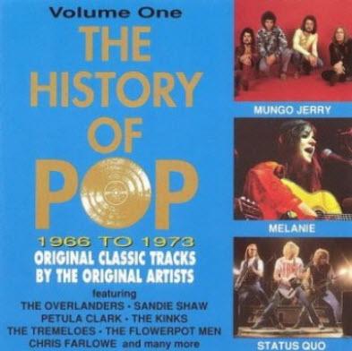 VA - The History Of Pop: 1966 to 1973 - Vol.1 (4 CD Box Set) (1993)