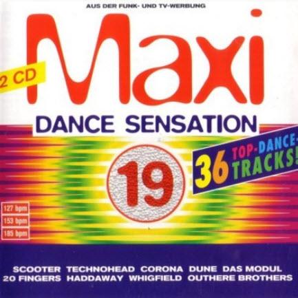 VA - Maxi Dance Sensation Vol.19 (1995)