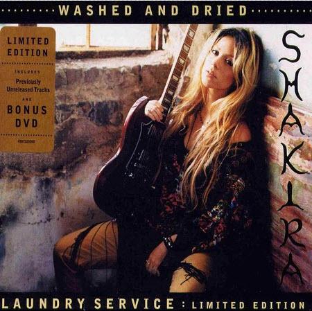 diedrearbarla: shakira laundry service album cover