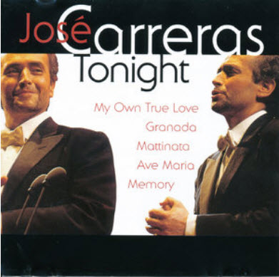 Jose Carreras - Tonight (2009)
