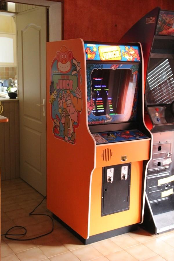 Donkey Kong Jr Reproduction Cabinet
