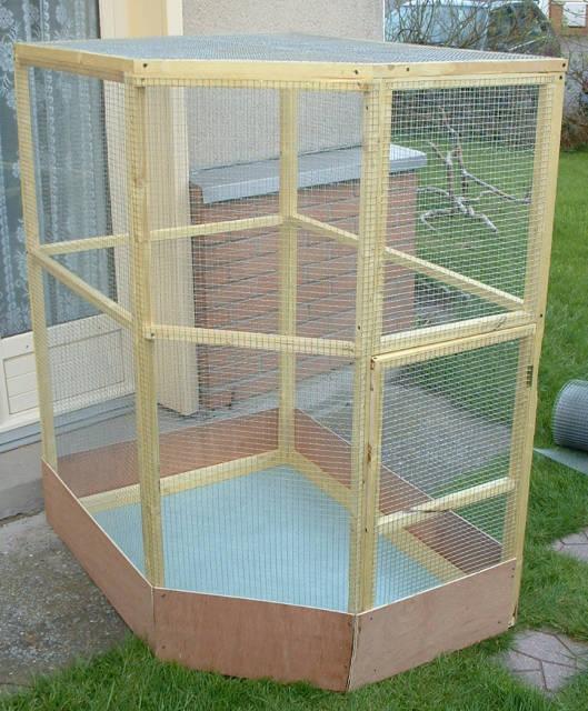 construction d une cage calopsitte