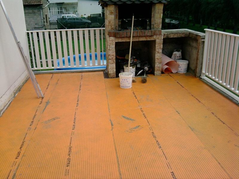Carrelage terrasse for Etancheite joints carrelage terrasse