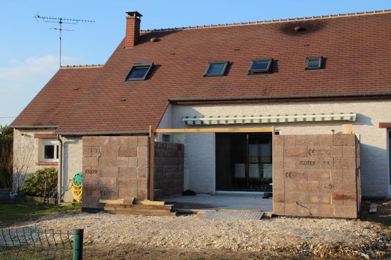 Nath47 agrandissement de ma maison pour un salon page 13 for Agrandissement maison 49
