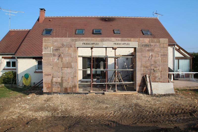 Nath47 agrandissement de ma maison pour un salon page 14 for Agrandissement maison loiret