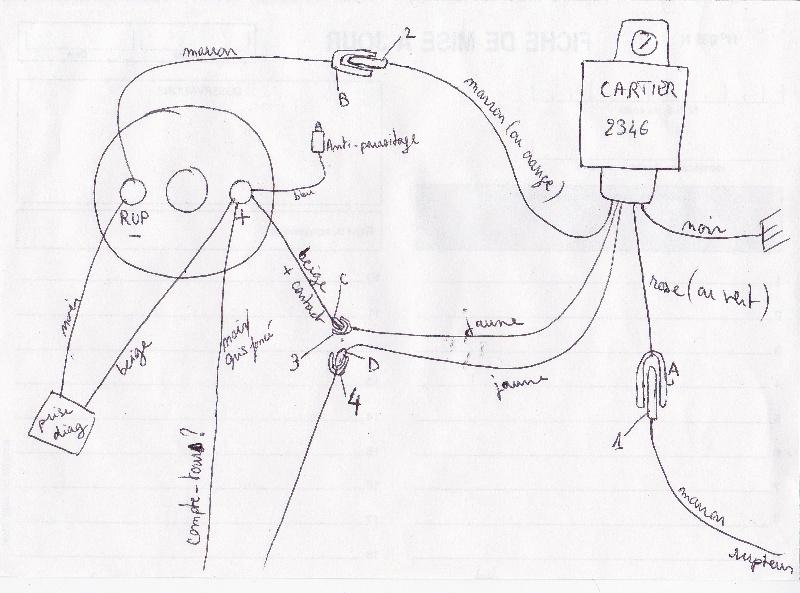 comment monter un allumage  u00e9lectronique sur renault 14