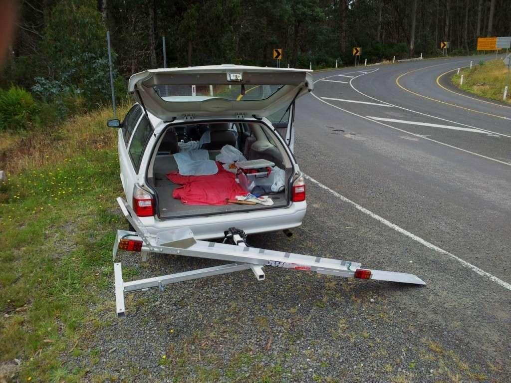 Tilt A Rack Bike Carrier Hitch Mount System