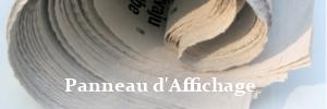 Panneau d'Affichage