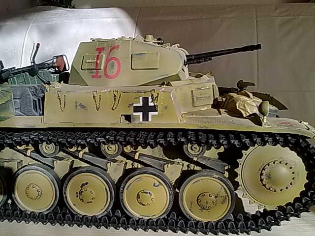 panzer ii in 1 6 von dragon. Black Bedroom Furniture Sets. Home Design Ideas