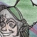 En ce moment, j'ai une envie de dessiner des lutins, des farfadets et de leprechauns. Voici le premier d'une grande collection... Je posterais des plus détaillés par la suite, celui-là, je l'ai fait en regardant une série, il est pas très détaillé ^^