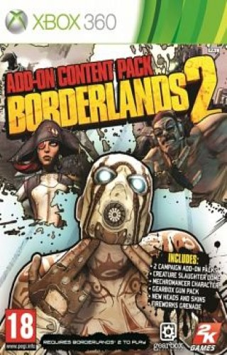 Borderlands 2 Addon Pack Xbox Ps3 Pc jtag rgh dvd iso Xbox360 Wii Nintendo Mac Linux