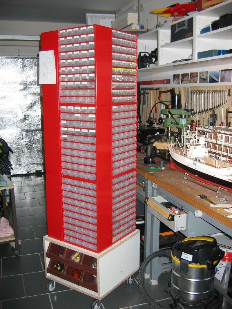 Rangement visserie atelier - Casier rangement visserie ...