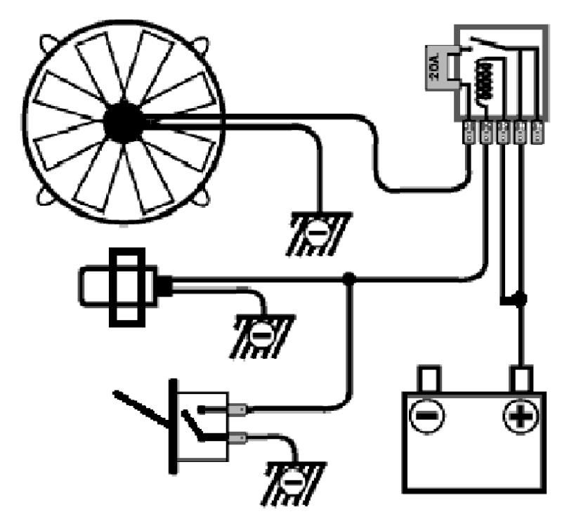 sonde thermocontact pour montage ventilo  u00e9lectrique