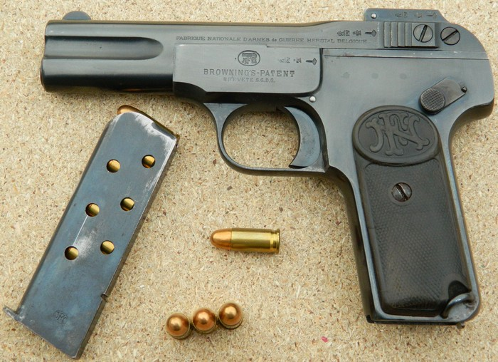 pistolet browning fn herstal 22lr