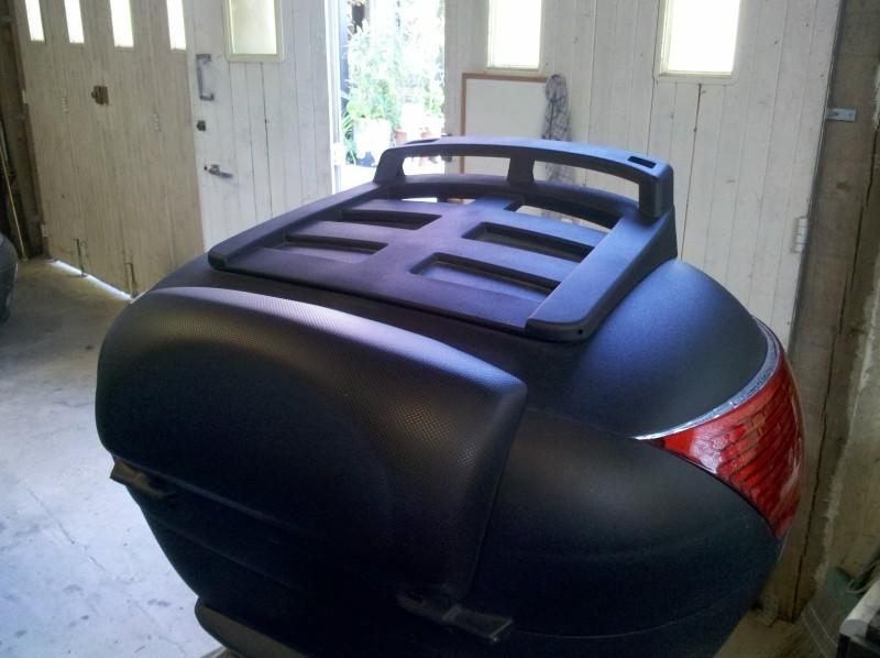 porte bagage sur top case shad sh46. Black Bedroom Furniture Sets. Home Design Ideas