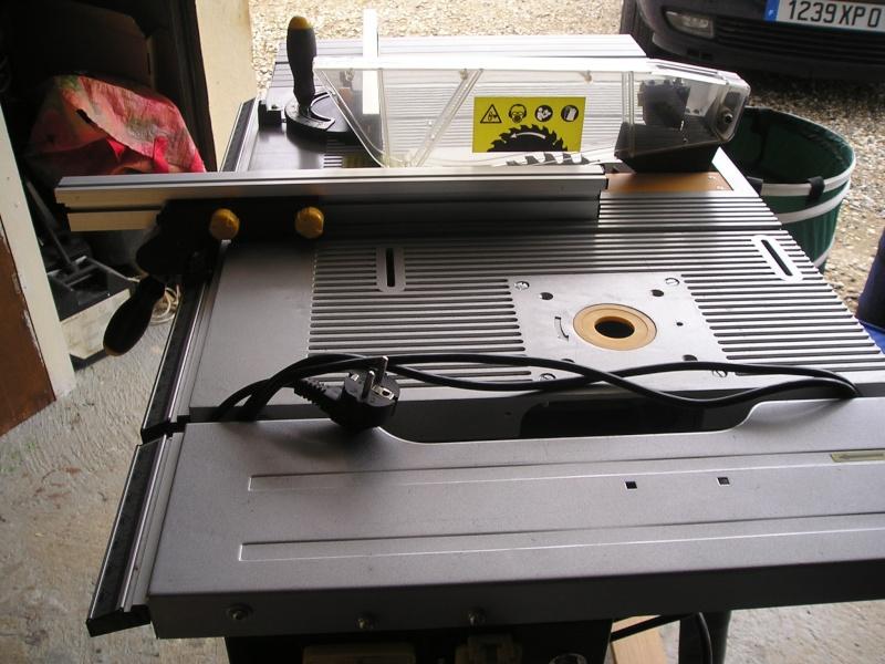 Aide pour am lioration machines polyvalentes - Scie sur table mac allister ...