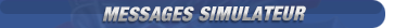 Messages du Simulateur